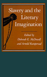 Slavery and the Literary Imagination image