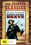 Six Shooter Classics - Lonely are the Brave DVD