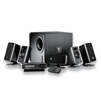 Logitech Z-5450 Digital 5.1 Speaker System