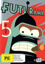 Futurama - Season 5 on DVD