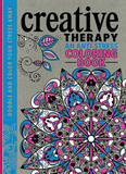 Creative Therapy: An Anti-Stress Coloring Book by Hannah Davies