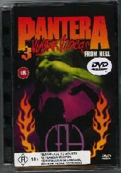 Pantera - Vulgar Videos From Hell on DVD