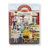 Melissa & Doug: Cool Careers Puffy Sticker Books
