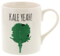 McLaggan Smith: Jolly Awesome Coffee Mug - Kale Yeah!