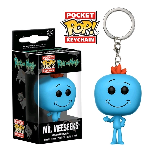 Rick & Morty - Mr. Meeseeks - Pocket Pop! Keychain