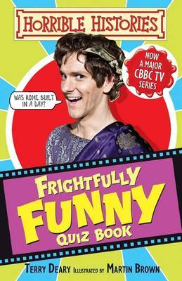 Frighfully Funny Quiz Book by Terry Deary image