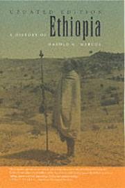 A History of Ethiopia by Harold G. Marcus image