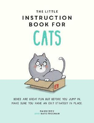 The Little Instruction Book for Cats by Kate Freeman image