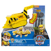 Paw Patrol: Flip & Fly Rubble - Transforming Vehicle