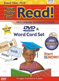 Your Baby Can Read!: v. 2 by Robert Titzer image