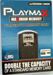 Playmax Memory Card 16 MB for PlayStation 2