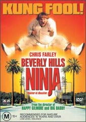 Beverly Hills Ninja on DVD