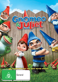 Gnomeo & Juliet on DVD