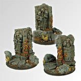 Ancient Ruins 60mm round fly base