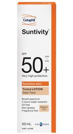 Cetaphil Suntivity SPF50+ Daily Face Tinted Lotion (50ml)