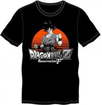Dragon Ball Z Resurrection F Black Tee (Large)