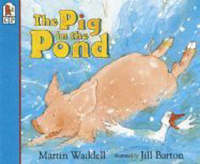 Pig In The Pond With Cd by Martin Waddell image