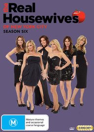 Real Housewives of New York - Season Six on DVD