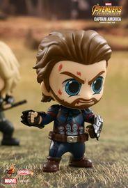 Avengers: Infinity War - Captain America Cosbaby Figure image