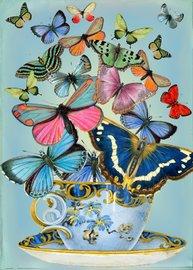 Madame Treacle: Butterflies Teacup