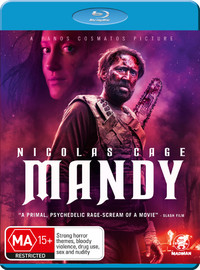 Mandy on Blu-ray