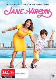 Jane the Virgin Collection (S1-4) on DVD