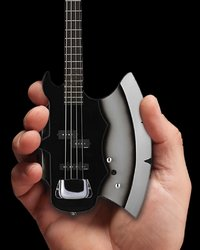 Axe Heaven: Miniature Replica - KISS Gene Simmons Guitar (AXE Base)