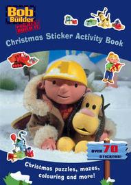 Bob the Builder: Christmas Sticker Activity Book image