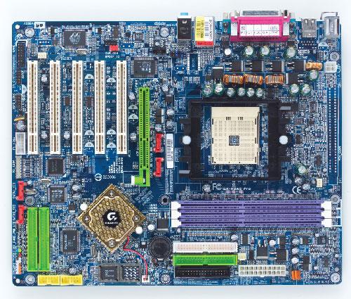 Gigabyte Motherboard Socket 754 GA-K8NS Pro image