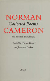 Collected Poems and Selected Translations by Norman Cameron image