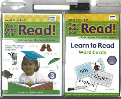 Your Baby Can Read: DVD and Word Card Blister Pack by Robert Titzer image