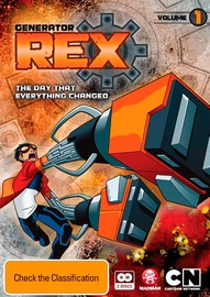 Generator Rex - The Day that Everything Changed - Volume 1 on DVD