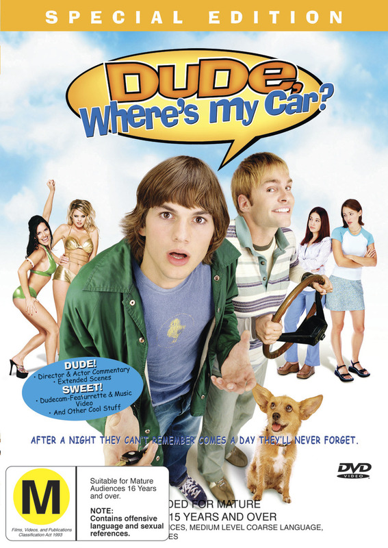 Dude, Where's My Car? on DVD