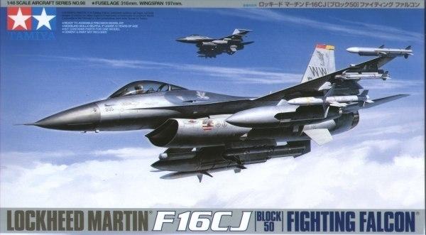 Tamiya U.S. Lockheed Martin F16CJ Fighting Falcon 1/48 Aircraft Model Kit
