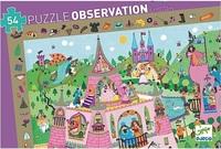 Djeco: Princess Observation Jigsaw Puzzle