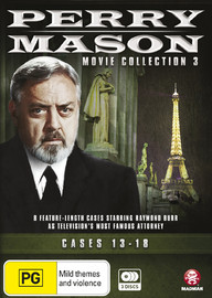 Perry Mason Movie Collection Three: Cases 13-18 on DVD