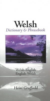 Welsh - English / English - Welsh Dictionary And image
