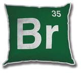 Breaking Bad - 'Br' Logo Cushion