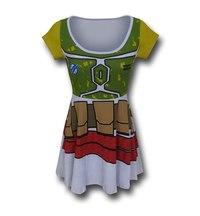 Star Wars Boba Fett Skater Dress (Small) image