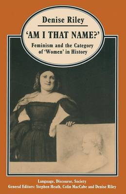 `Am I That Name?' by Denise Riley