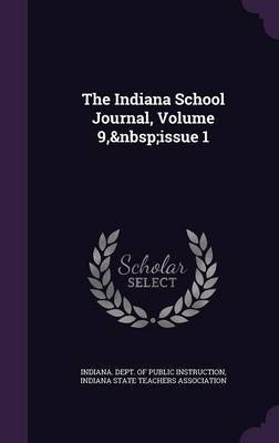 The Indiana School Journal, Volume 9, Issue 1 image