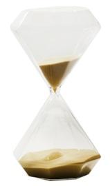 Short Story: Diamond Hour Glass - Large