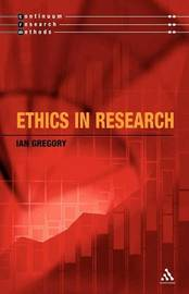 Ethics and Research by Ian Gregory image