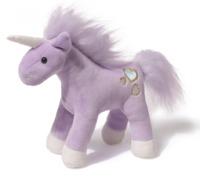 Gund: Chatters Unicorn Plush (Purple)