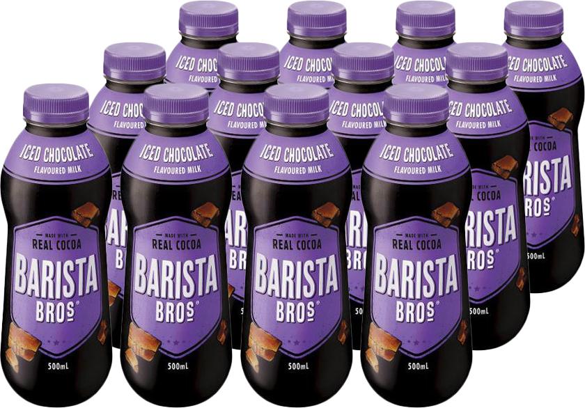 Barista Bros Iced Chocolate 500ml (12 Pack) image