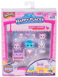 Shopkins: Happy Places - Season 2 Decorator Pack Bunny Laundry