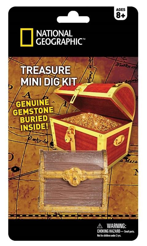 National Geographic: Treasure - Mini-Dig Kit