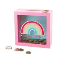 Chasing Rainbows Money Box
