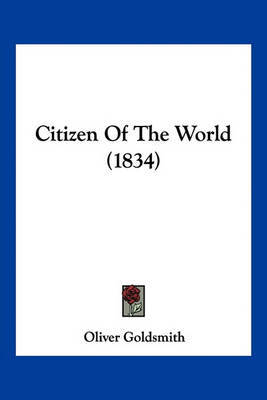 Citizen of the World (1834) by Oliver Goldsmith image