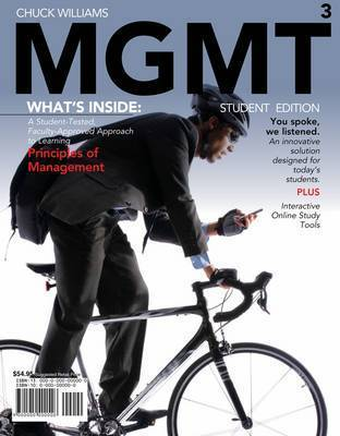 Mgmt 2010 Edition (with Review Cards and Bind-In Printed Access Card) by Chuck Williams